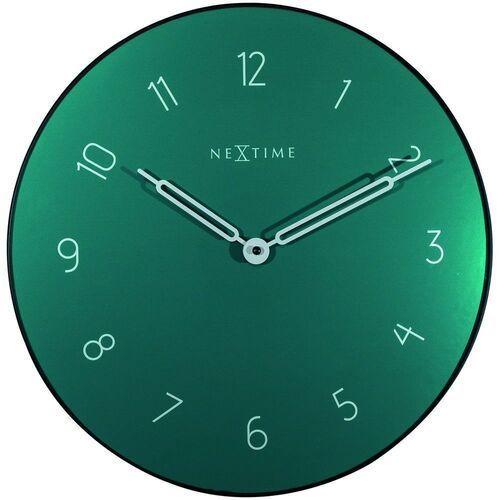 """Nextime - zegar ścienny """"carousel"""", zielony - zielony (8717713024453)"""