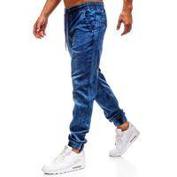 Spodnie jeansowe joggery męskie granatowe denley y242 marki Red fireball
