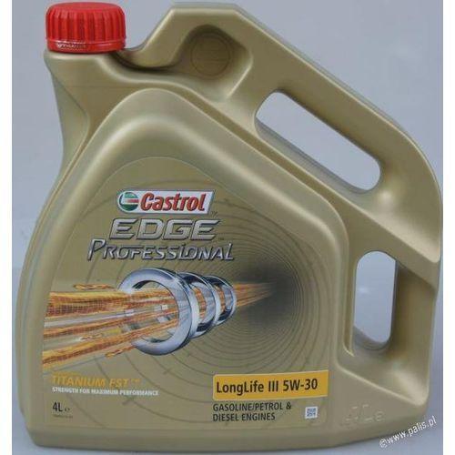 Olej Castrol EDGE Professional LL III 5W30 4 litry !ODBIÓR OSOBISTY KRAKÓW! lub wysyłka