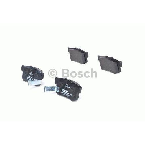 - zestaw klocków hamulcowych, hamulce tarczowe marki Bosch