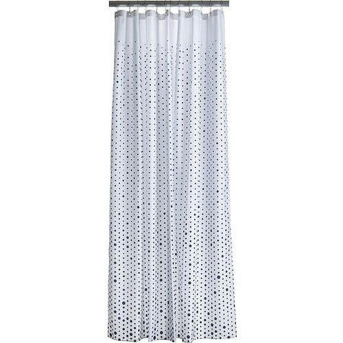 Zasłona prysznicowa drop niebiesko-biała marki Zone denmark