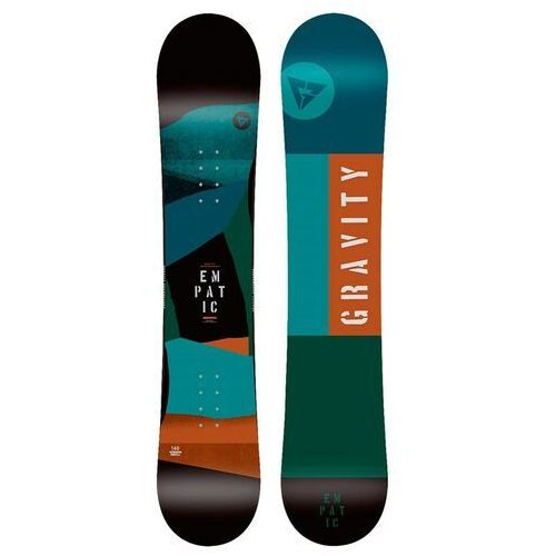 Snowboard - empatic jr multi (multi) rozmiar: 135 marki Gravity