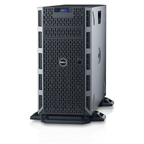 Dell Serwer t330 intel xeon 4-core 3.7ghz / ram 8gb ddr4 / hdd 2x300gb sas / h330 z raid5 / 3y nbd