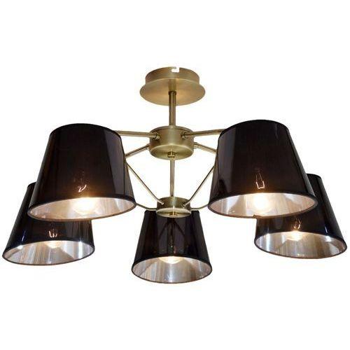 Lampa wisząca zwis żyrandol Candellux Cortez 5x40W E14 patyna 35-54999 (5906714854999)