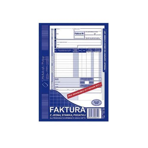 Michalczyk i prokop Faktura vat a5 typ 130-3e 80k (o+1k)