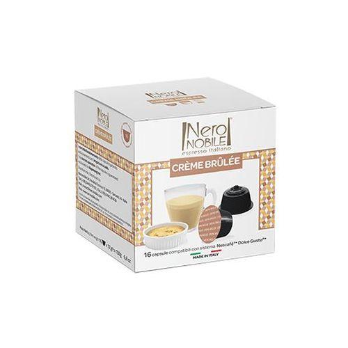 Kapsułki do nescafe dolce gusto* creme brulee 16 kapsułek - do 12% rabatu przy większych zakupach oraz darmowa dostawa marki Nero nobile