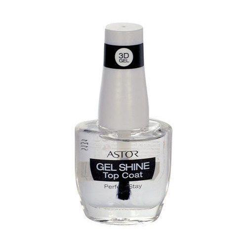 Astor Perfect Stay 3D Gel Shine Top Coat 12ml W Lakier do paznokci Transparent z kategorii Lakiery do paznokci