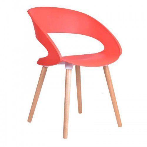 Gockowiak Krzesło reims - czerwony