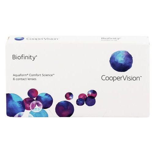 Wyprzedaż - biofinity 6 szt. marki Cooper vision