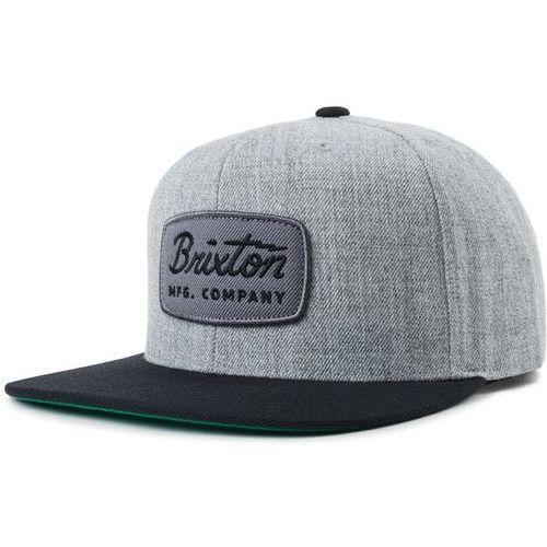 czapka z daszkiem BRIXTON - Jolt Snapback Heather Grey/Black (HTGBK) rozmiar: OS