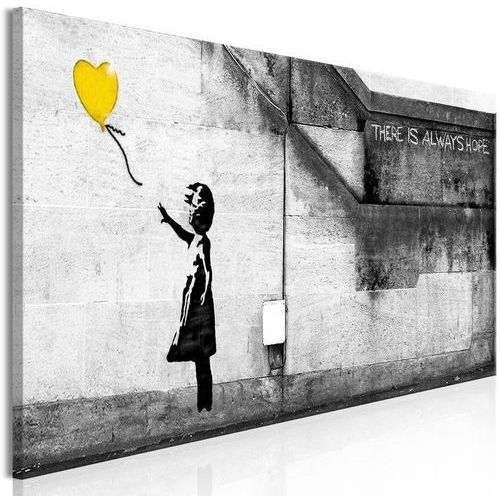 Obraz - Zawsze jest nadzieja (1-częściowy) wąski żółty