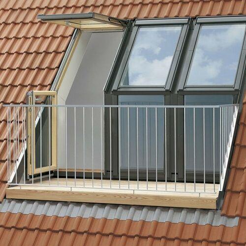 Velux Okno dachowe balkonowe gel-v21 gel 3065 mo8 78x136 3-szybowe (5702327870292)