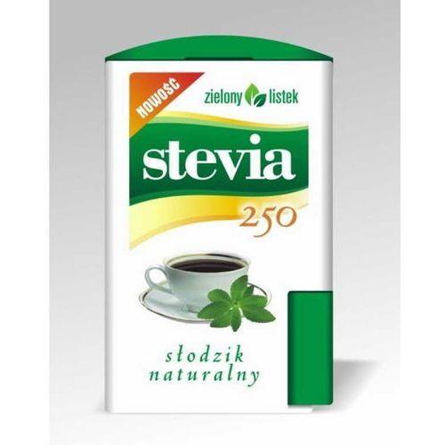 Stevia Stewia Słodzik Tabletki Pastylki 250szt - Zielony Listek (5901751001078)