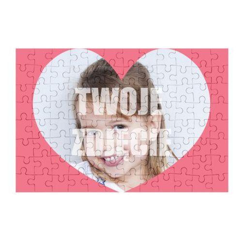 Megakoszulki Puzzle serce + twoje zdjęcie