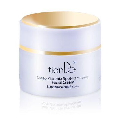 Krem regenerujący przeciwzmarszczkowy do twarzy na bazie placenty, TianDe (na noc), 50 g.