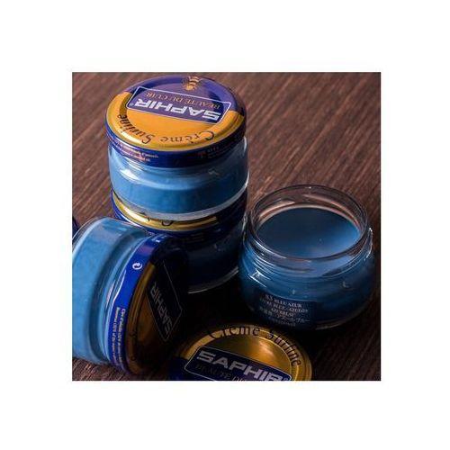 Saphir 83 - niebieski ażur / blue azur krem do obuwia butów 50ml marki Saphir bdc