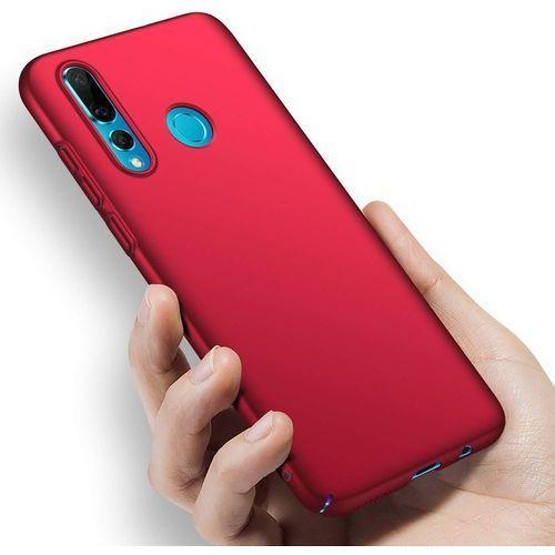 Msvii simple ultracienkie etui pokrowiec huawei p smart plus czerwony - czerwony (6923878271225)