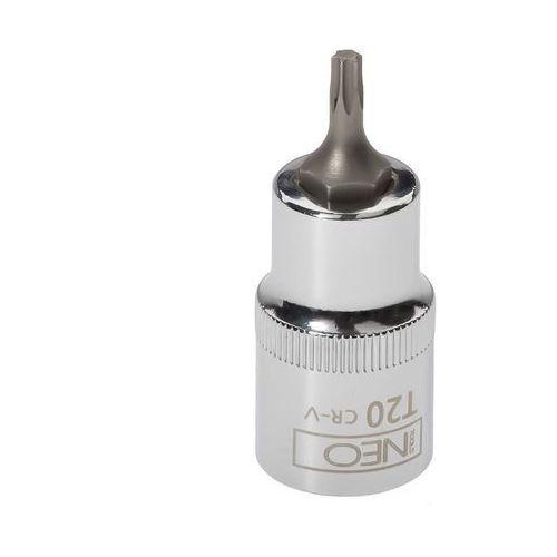 """Końcówka Torx na nasadce 1/2"""", T20 x 55 mm 08-750 NEO (5907558409604)"""