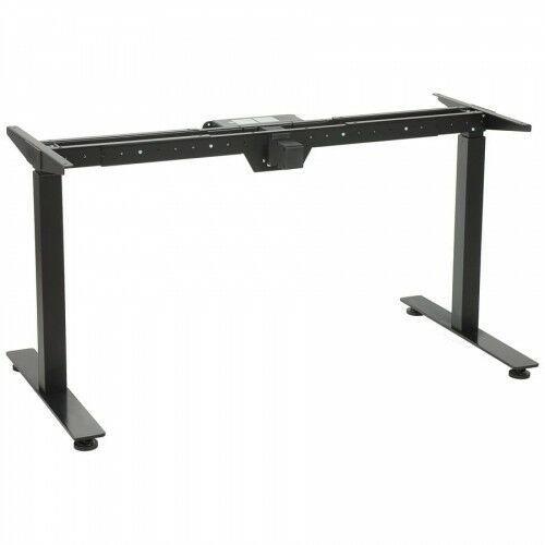 Stelaż metalowy biurka (stołu) z elektryczną regulacją wysokości, elektryczny, ste-01t, kolor czarny marki Stema - st