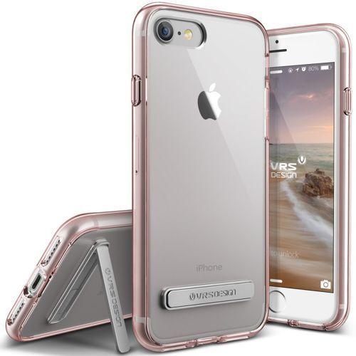 Etui  crystal mixx do iphone 7 złoty róż, marki Vrs design
