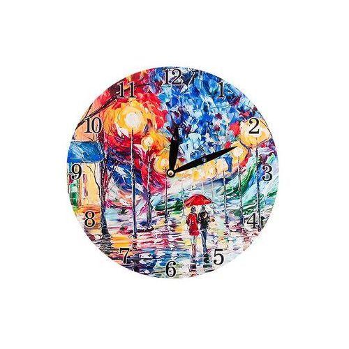 Zegar wiszący na ścianę do powieszenia malarstwo marki Home
