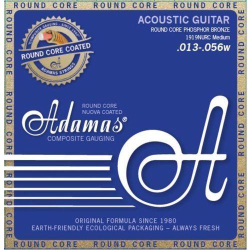 Adamas (664684) phosphor bronze nuova powlekane struny do gitary akustycznej - medium.013-.056