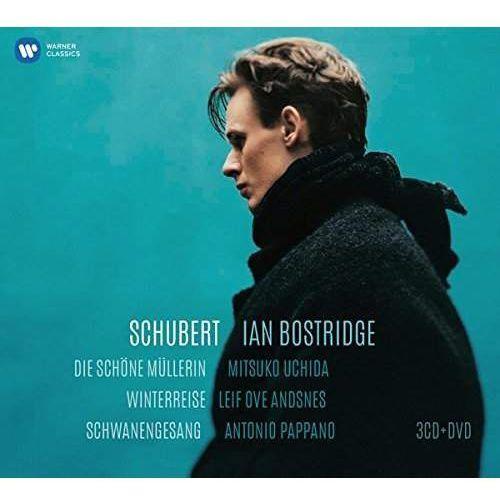 Schubert - winterreise, die schone mullerin, schwanengesang (cd+dvd) (płyta cd) marki Warner music poland