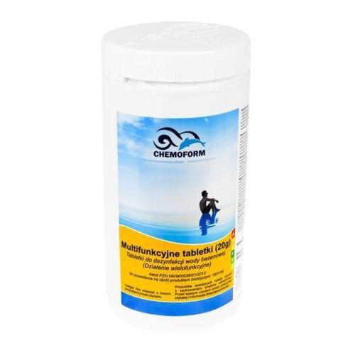Chemia basenowa TABLETKI MULTIFUNKCYJNE chlor 1 kg (5902921961598)