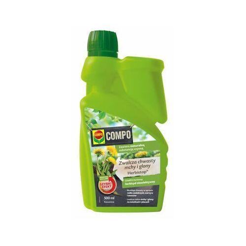 Compo herbistop 500 ml koncentrat - zwalcza chwasty, mchy i glony