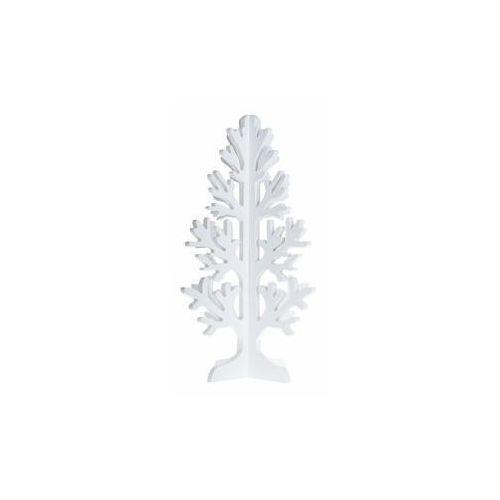 Drzewko przestrzenne białe drewniane