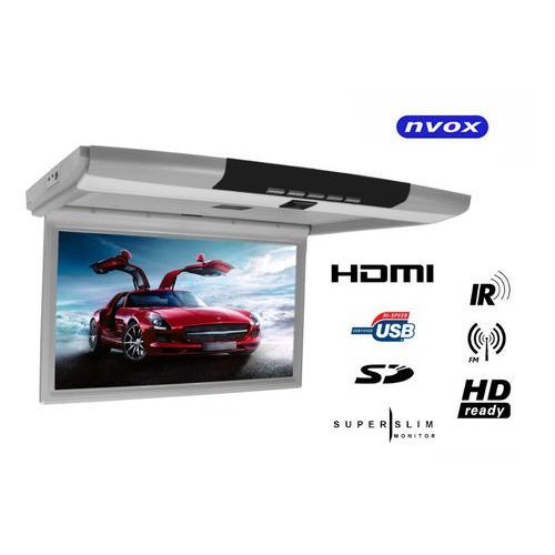 """Nvox rf156hdmi gr monitor podwieszany podsufitowy lcd 15"""" cali full hd led hdmi usb sd ir fm (5901867720757)"""