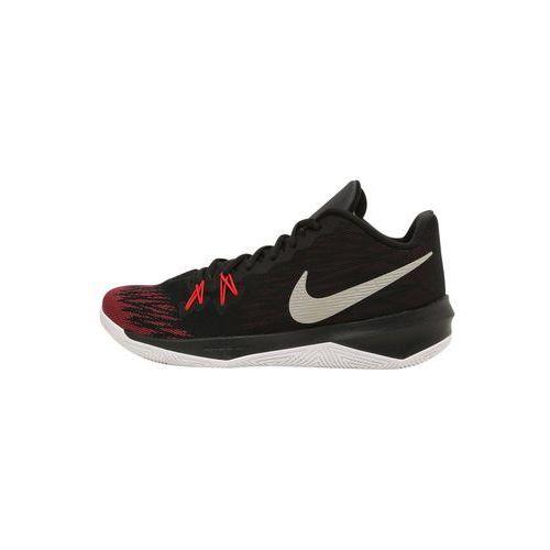 Nike Performance ZOOM EVIDENCE II Obuwie do koszykówki black/metallic silver/university red, 908976