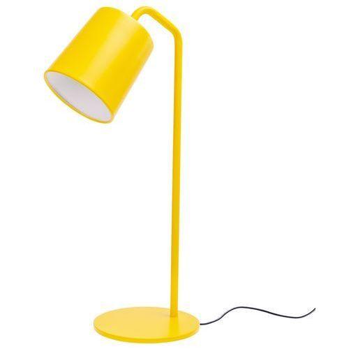 King home Lampa biurkowa flaming table żółta (5900168813571)