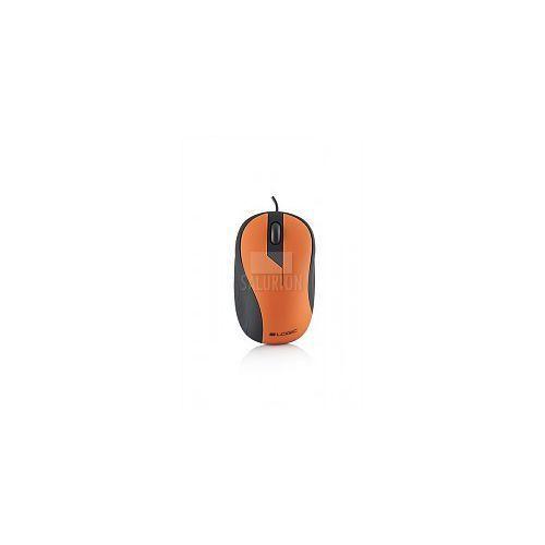 LOGIC przewodowa mysz optyczna LM14 pomarańczowy