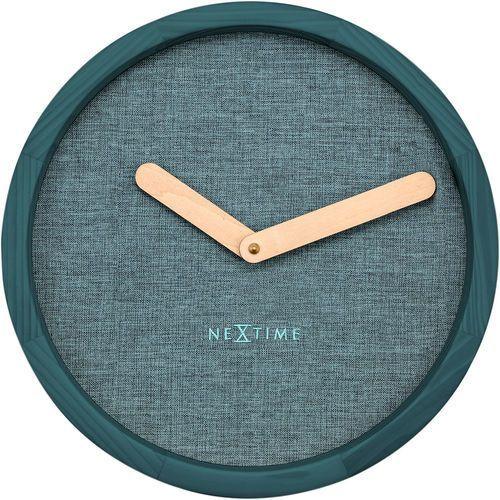 Zegar ścienny Nextime Calm 30 cm, turkusowy (3155 TQ) (8717713016540)