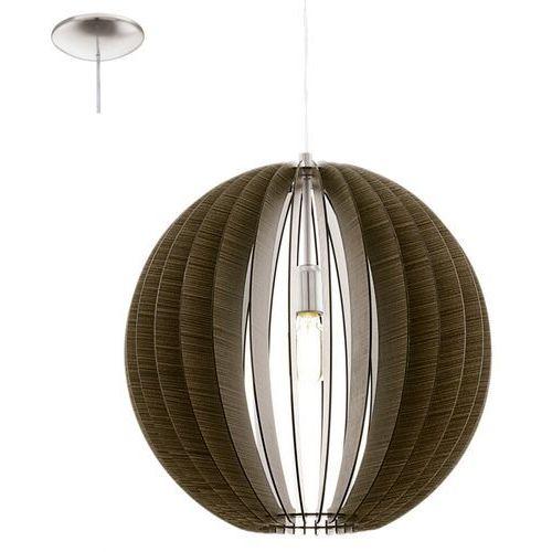 Cossano 94636 lampa wisząca drewno marki Eglo