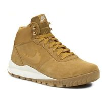 Buty - hoodland suede 654888 727 haystock/ light brown/ metallic gold, Nike, 40-47
