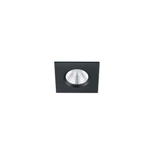 zagros 650610132 oczko oprawa wpuszczana ip65 1x5,5w led 3000k czarny mat marki Trio
