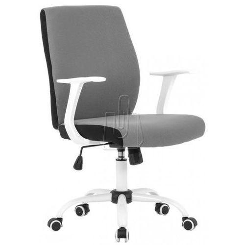 Fotel pracowniczy Halmar Combo popielaty - gwarancja bezpiecznych zakupów - WYSYŁKA 24H, kolor czarny