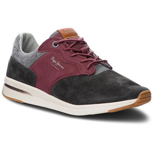 Sneakersy - jayker nubuc pms30480 anthracite 982, Pepe jeans, 40-46