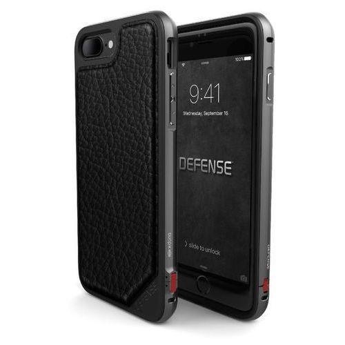 defense lux - aluminiowe etui iphone 7 plus (black leather) odbiór osobisty w ponad 40 miastach lub kurier 24h marki X-doria