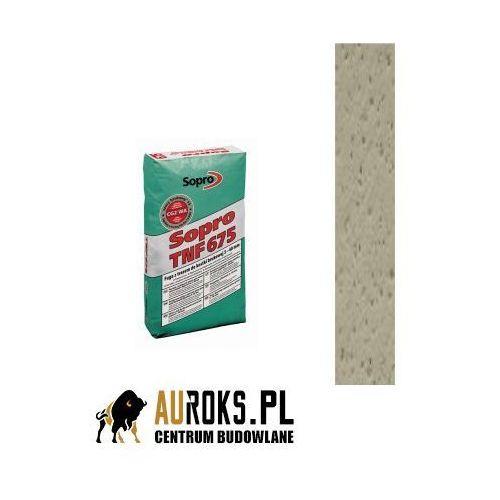 Fuga z trasem do kamienia naturalnego 5-40 mm tnf 677 kolor piaskowo-szary (18) 25kg firmy marki Sopro