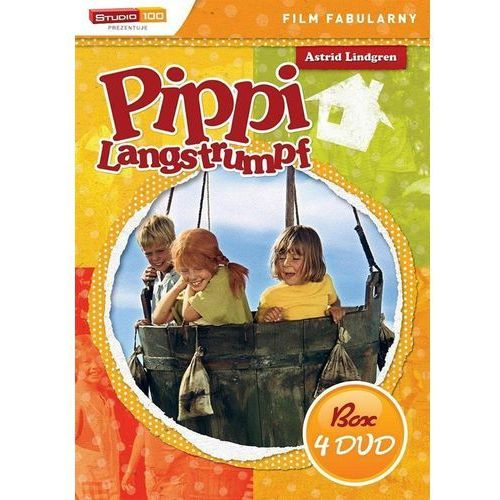 Cass film Pippi langstrumpf ( box 4xdvd)