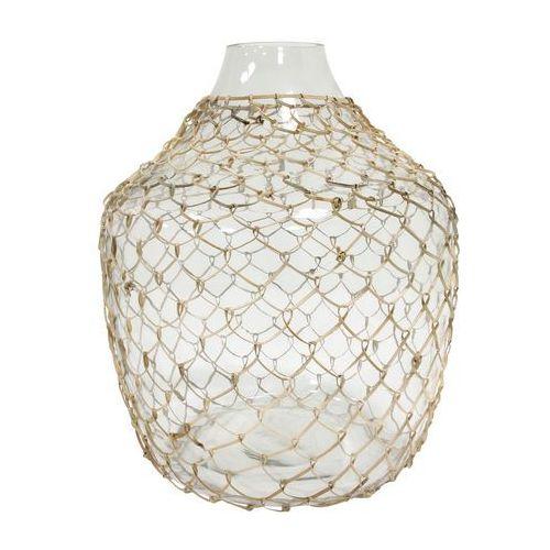 Hk living wazon szklany wiklinowy agl4415