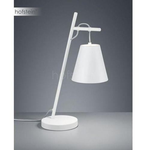 Trio Biurkowa lampka stojąca andreus 507500189 stołowa lampa nocna biała