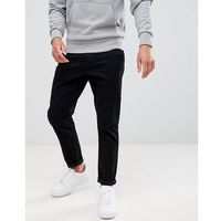 Burton Menswear Tapered Chino In Black - Black, kolor czarny