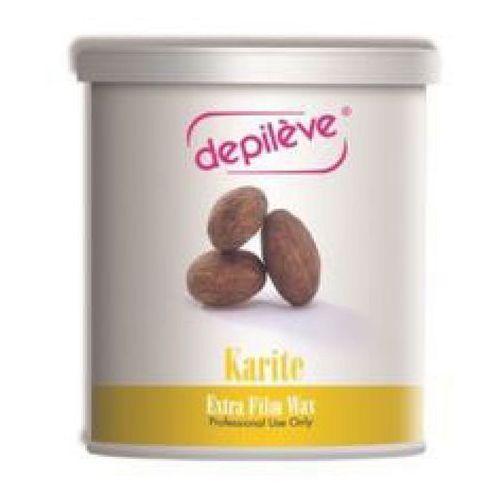 Depileve karite extra film wax wosk do depilacji bezpaskowej z masłem karite (800 g.)
