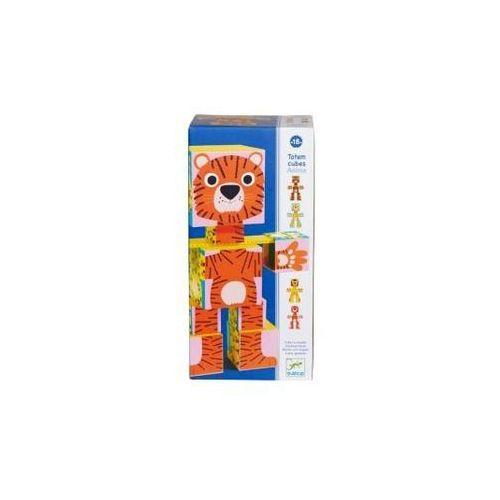 Klocki kartonowe Klocki - Kartonowe Zwierzęta - DJ09109 Djeco, klocki kartonowe Zwierzęta marki Djeco [zabawka]