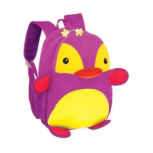 Spokey Plecak neoprenowy pingwin fioletowy -