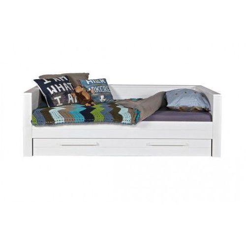 :: łóżko robin zabudowane białe - 73 marki Woood